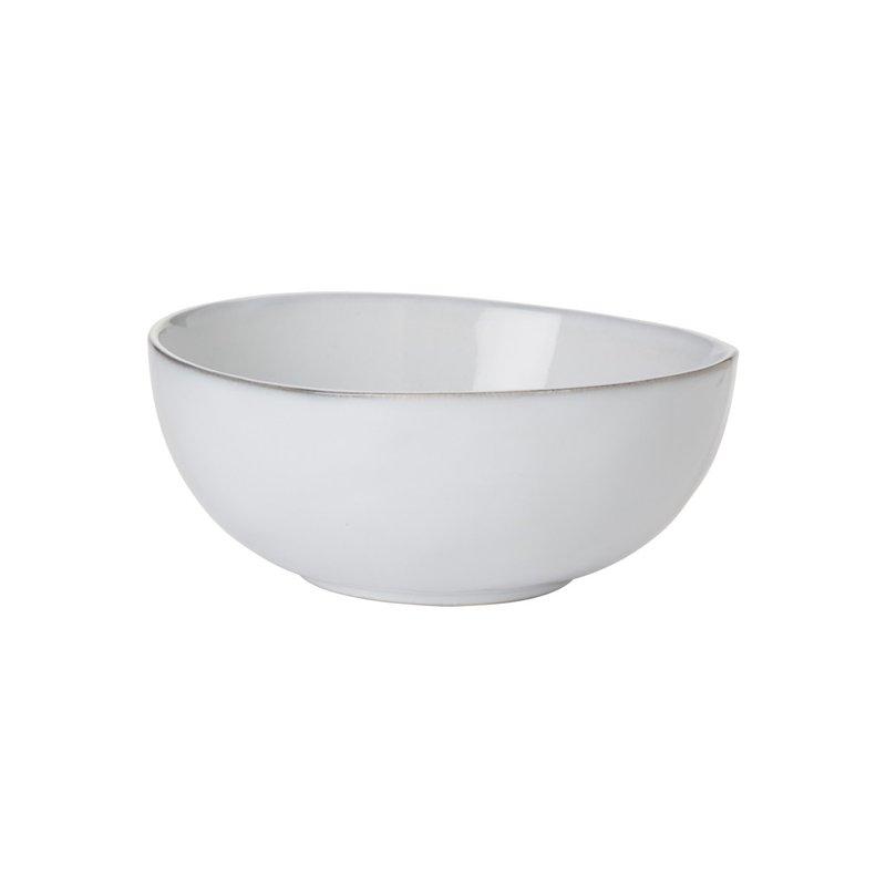 "Juliska Quotidien White Truffle 6.5"" Coupe Bowl"