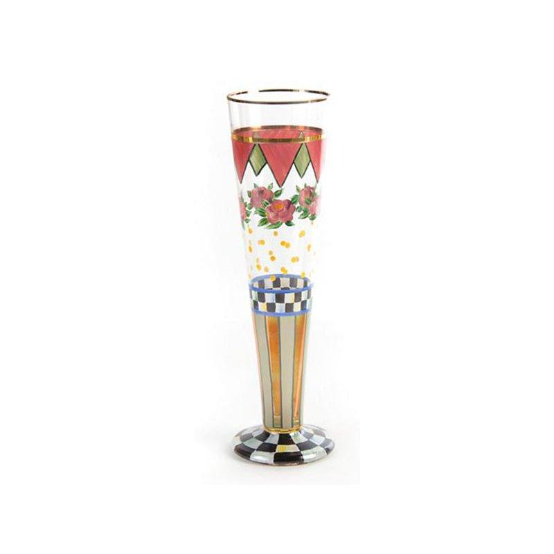 Mackenzie-Childs Speakeasy Pilsner Glass