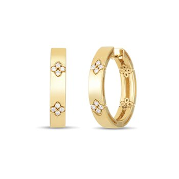 Love in Verona Hoop Earrings