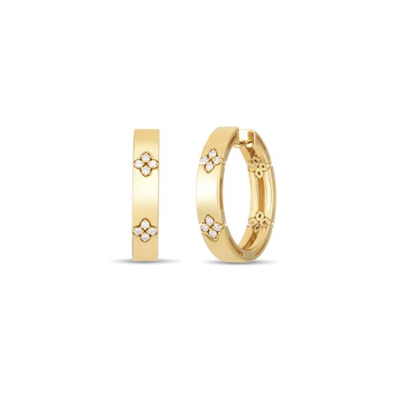 Roberto Coin Love in Verona Hoop Earrings