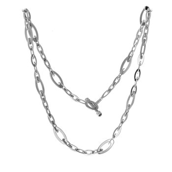 Chic & Shine Oval Link Necklace