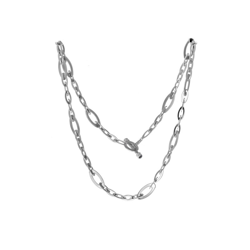 Estate Roberto Coin Chic & Shine Oval Link Necklace