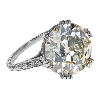 Antique European Cut Diamond Ring