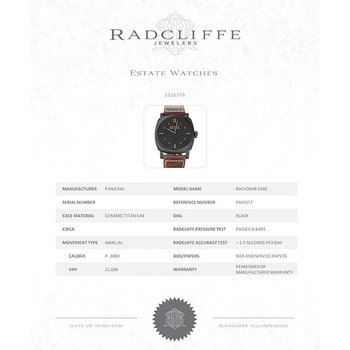 Radiomir (Ref. PAM577)