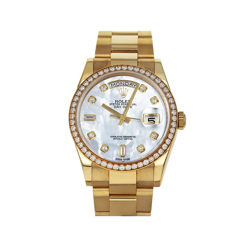 Pre-Owned Rolex Day-Date (Ref. 118348)