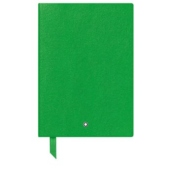 Green Lined Notebook