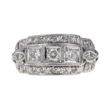 1930's Diamond Ring