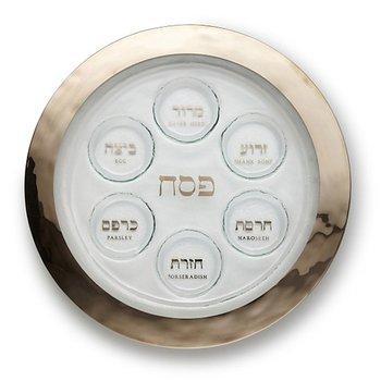 Platinum Seder Plate