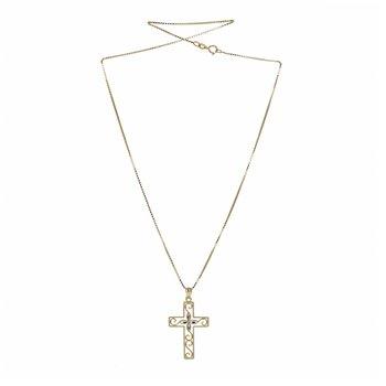 Cross Filigree Necklace