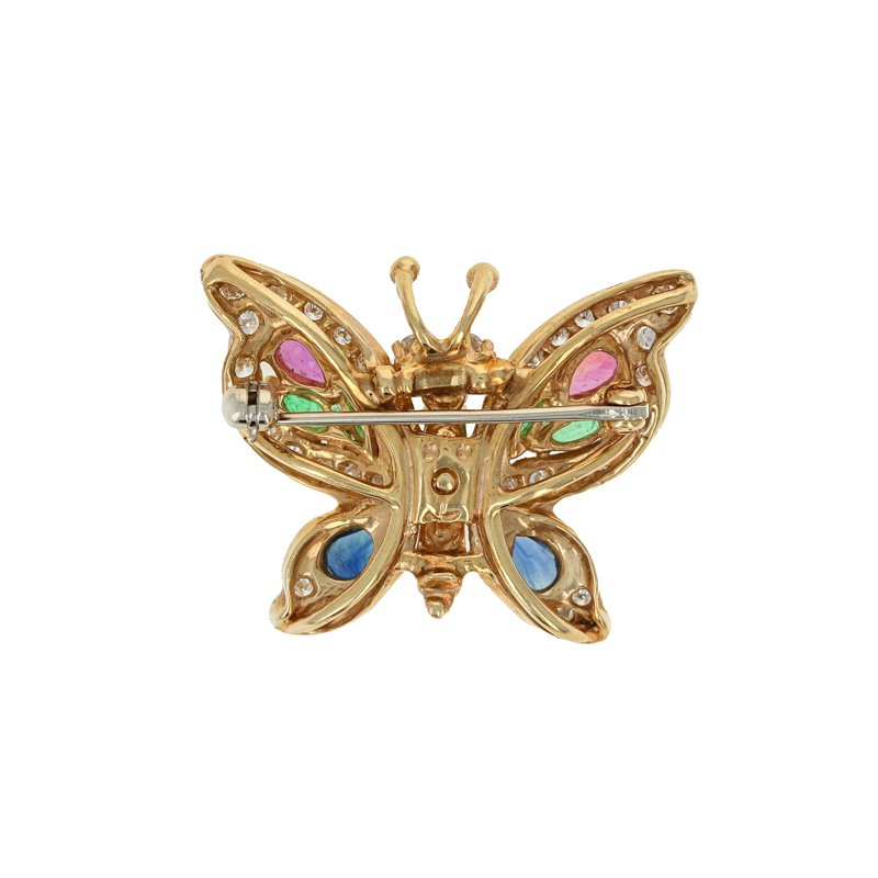 Estate Radcliffe Butterfly Pin