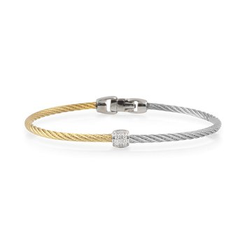 Colorblock Barrel Station Bracelet