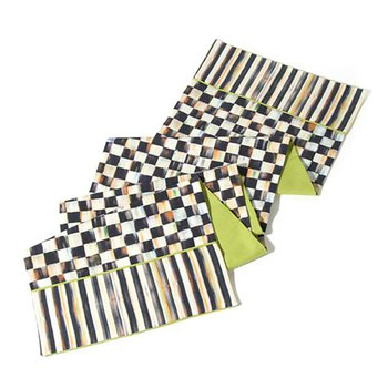 Courtly Check Table Runner