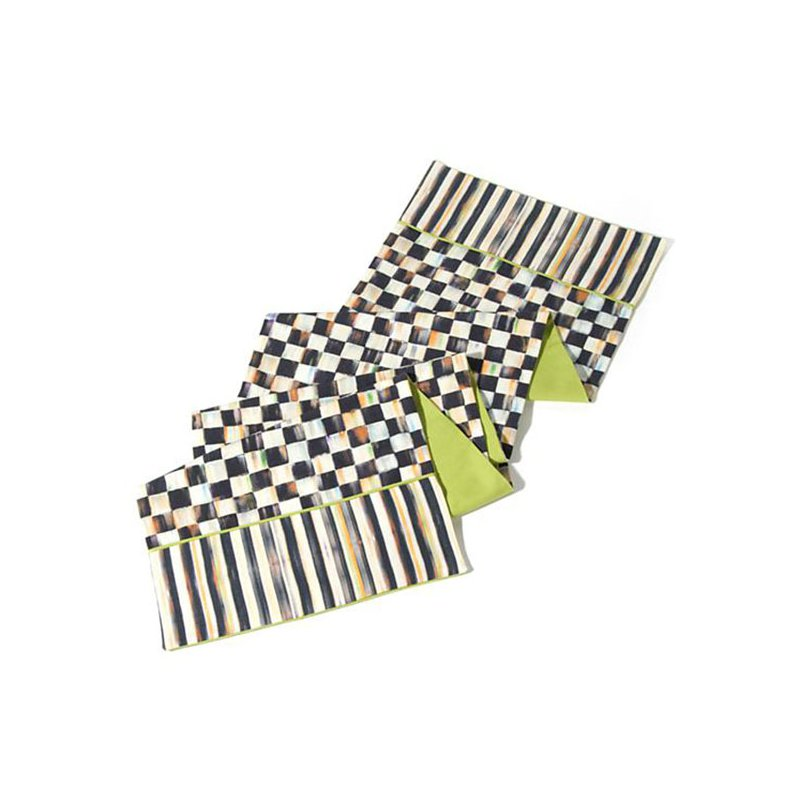 Mackenzie-Childs Courtly Check Table Runner