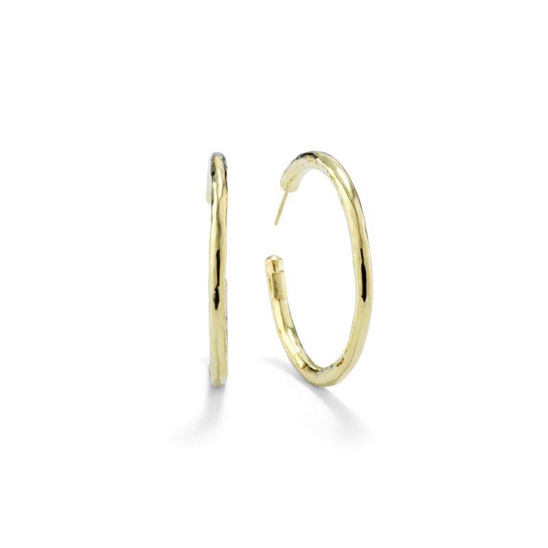 Ippolita Classico Medium Hammered Hoop Earrings