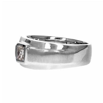Gent's Princess Cut Diamond Ring