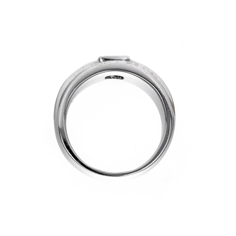 Estate Radcliffe Gent's Princess Cut Diamond Ring