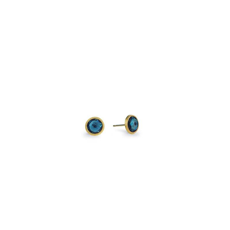 Marco Bicego Jaipur London Blue Topaz Earrings