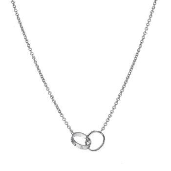 Interlocking Love Necklace