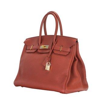 35cm Rouge H Birkin Bag