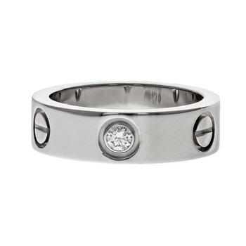 3 Diamond Love Ring