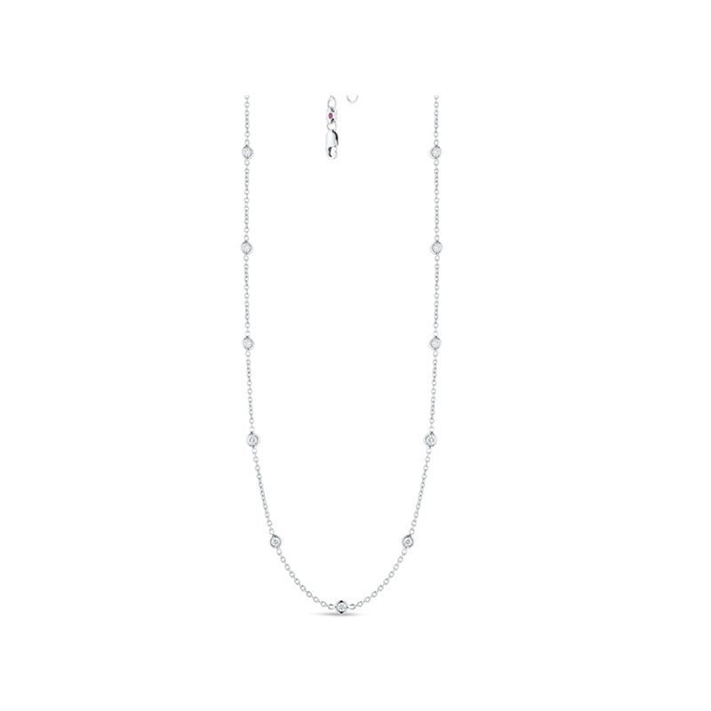 Roberto Coin Diamonds-by-the-Inch Necklace