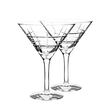 Street Martini Glass-Set of 2