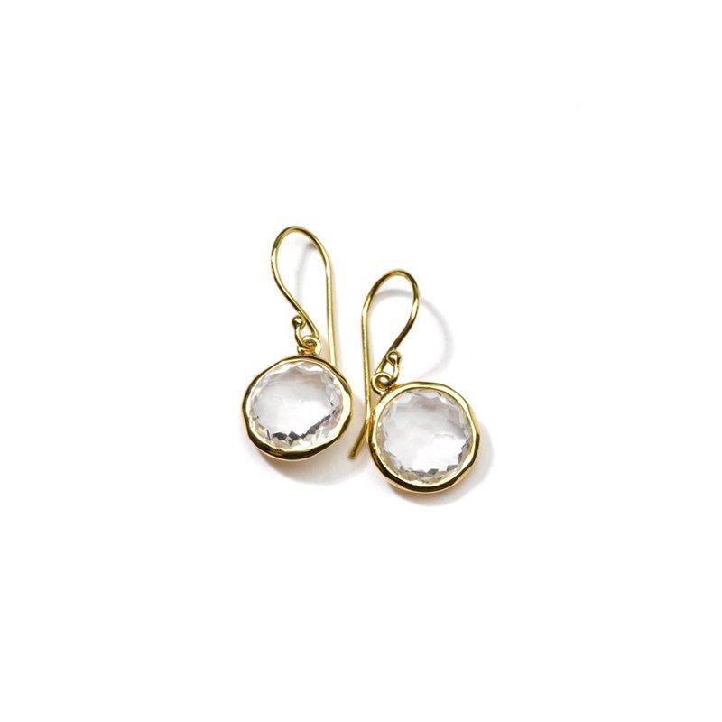 Ippolita Small Single Drop Earrings in 18K Gold