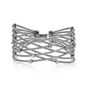 Grey Cable Constellation Bracelet