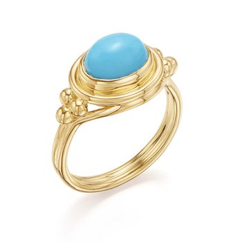 Turquoise Temple Ring
