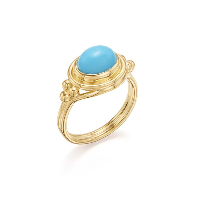 Temple St. Clair Turquoise Temple Ring