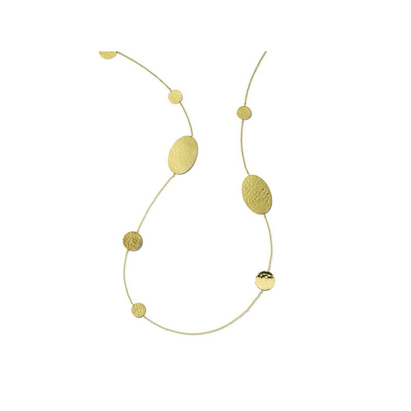 Ippolita Classico Crinkle Hammered Necklace