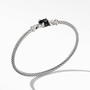 Chatelaine Bracelet with Black Onyx and Diamonds
