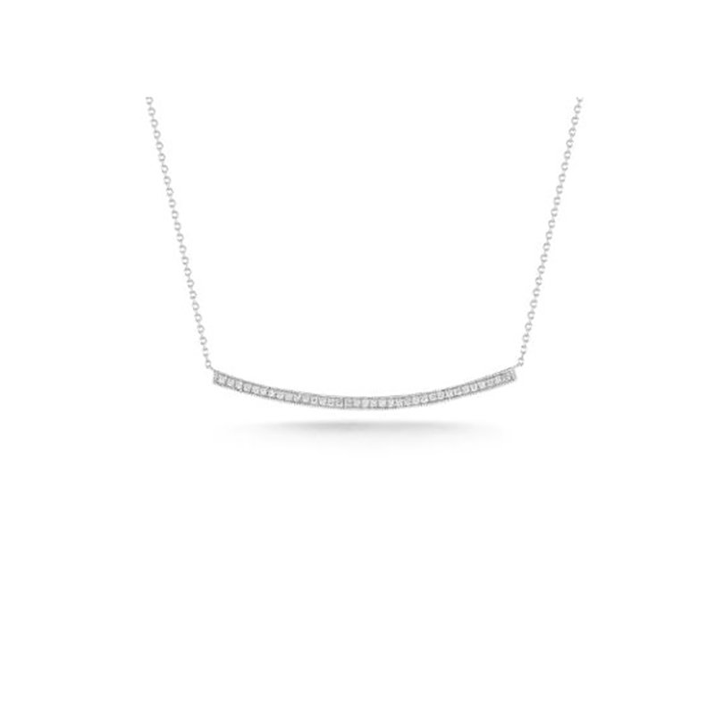 Dana Rebecca Designs Sylvie Rose Long Bar Necklace