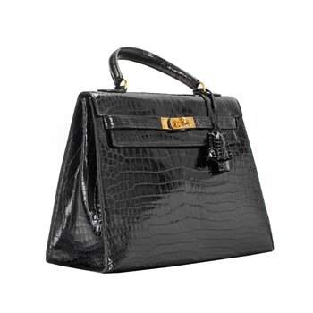 32cm Crocodile Kelly Bag