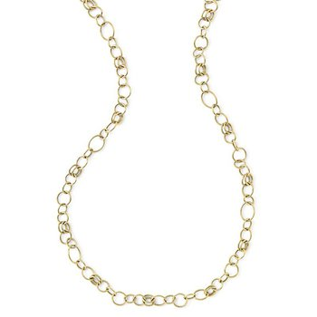 Classico Long Smooth Chain Necklace
