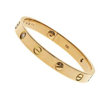 4 Diamond Love Bracelet