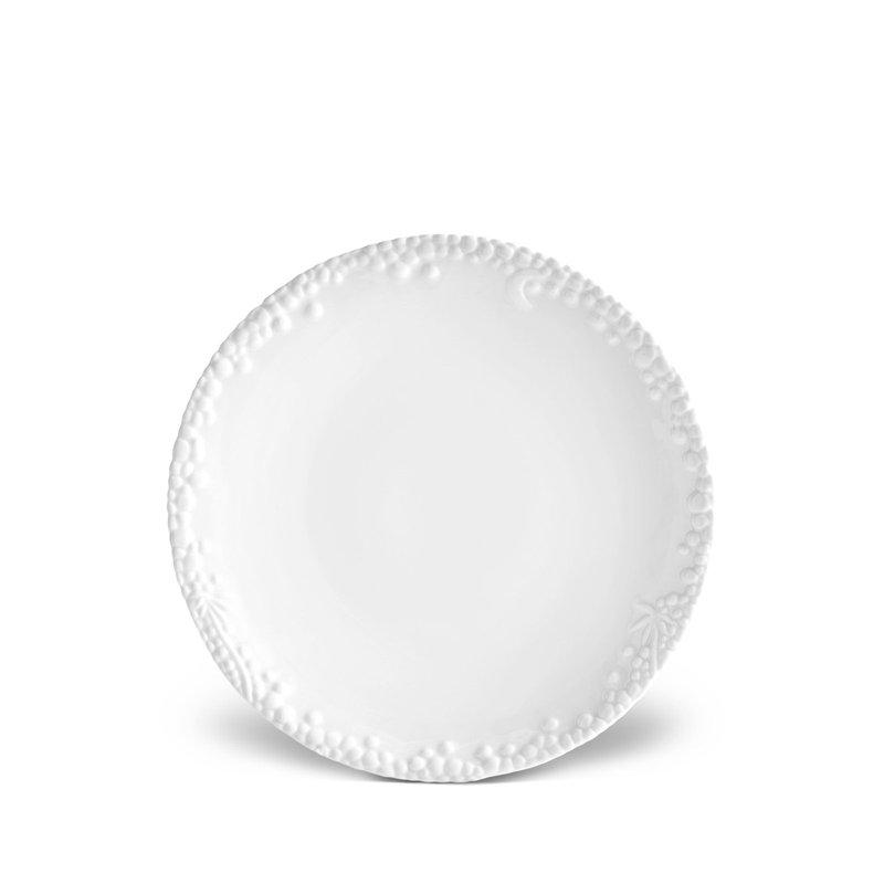 L' Objet Haas Mojave White Dessert Plate