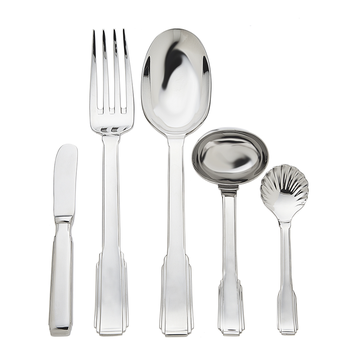 Art Deco 5 Piece Hostess Set