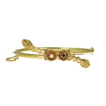 Victorian Style Bypass Bracelet