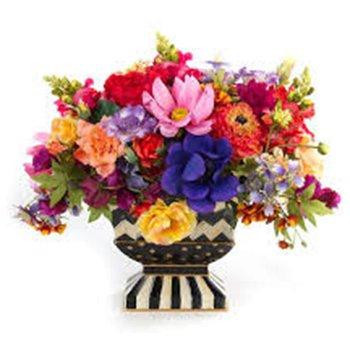Cutting Garden Bright Floral Centerpiece