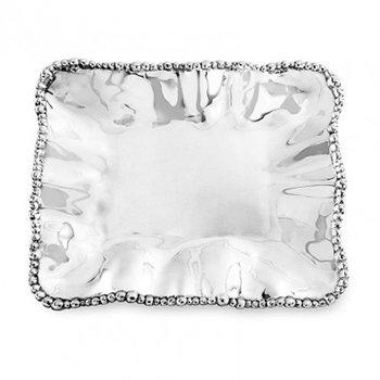 Organic Pearl Rectangular Tray