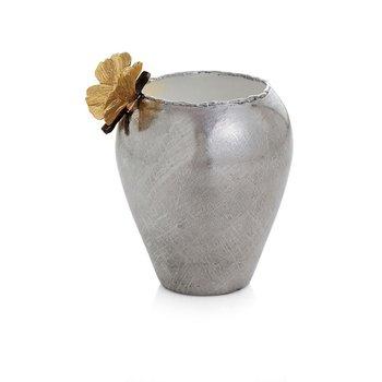 Butterfly Ginkgo Bud Vase