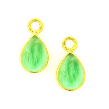 """Nile """"Small Pear Shape"""" Earring Pendants"""