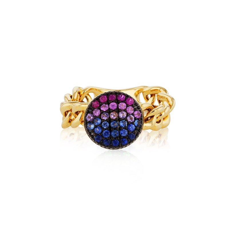 Phillips House Dusk Mini Infinity Chain Link Ring