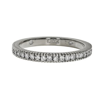 Half Diamond Rope Ring