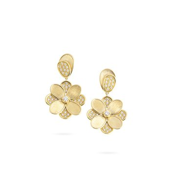 Petali  Flower Drop Earrings