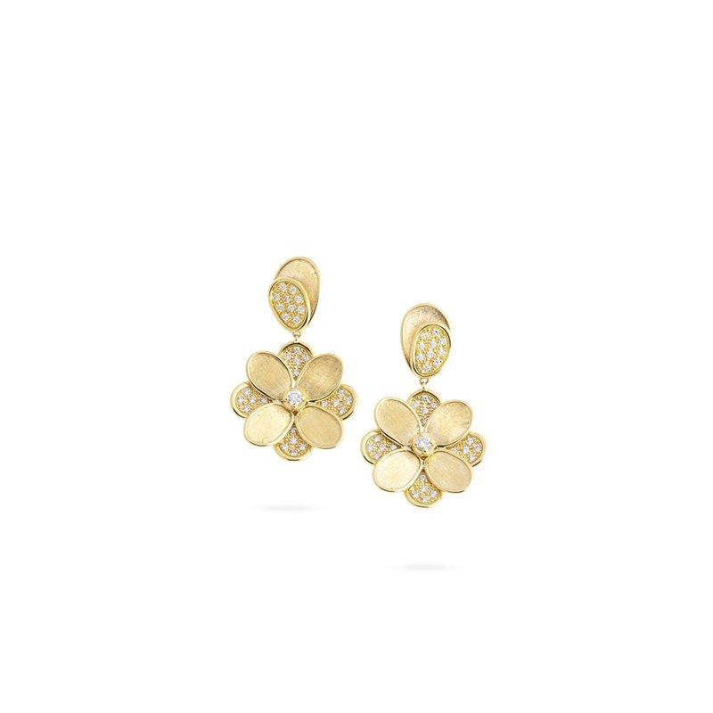 Marco Bicego Petali  Flower Drop Earrings