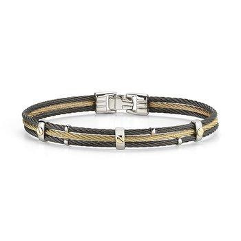 Men's Cable Bracelet