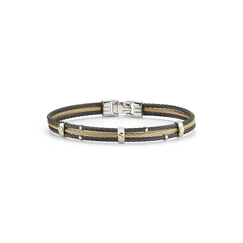 ALOR Men's Cable Bracelet