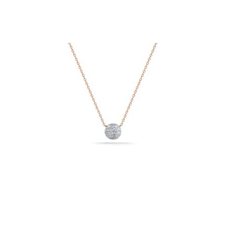 Dana Rebecca Designs Lauren Joy Mini Disc Necklace
